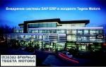 Внедрение системы SAP ERP в холдинге Tegeta Motors